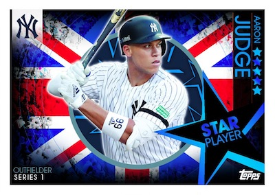 2019 Topps UK On Demand London Series Baseball Cards 2