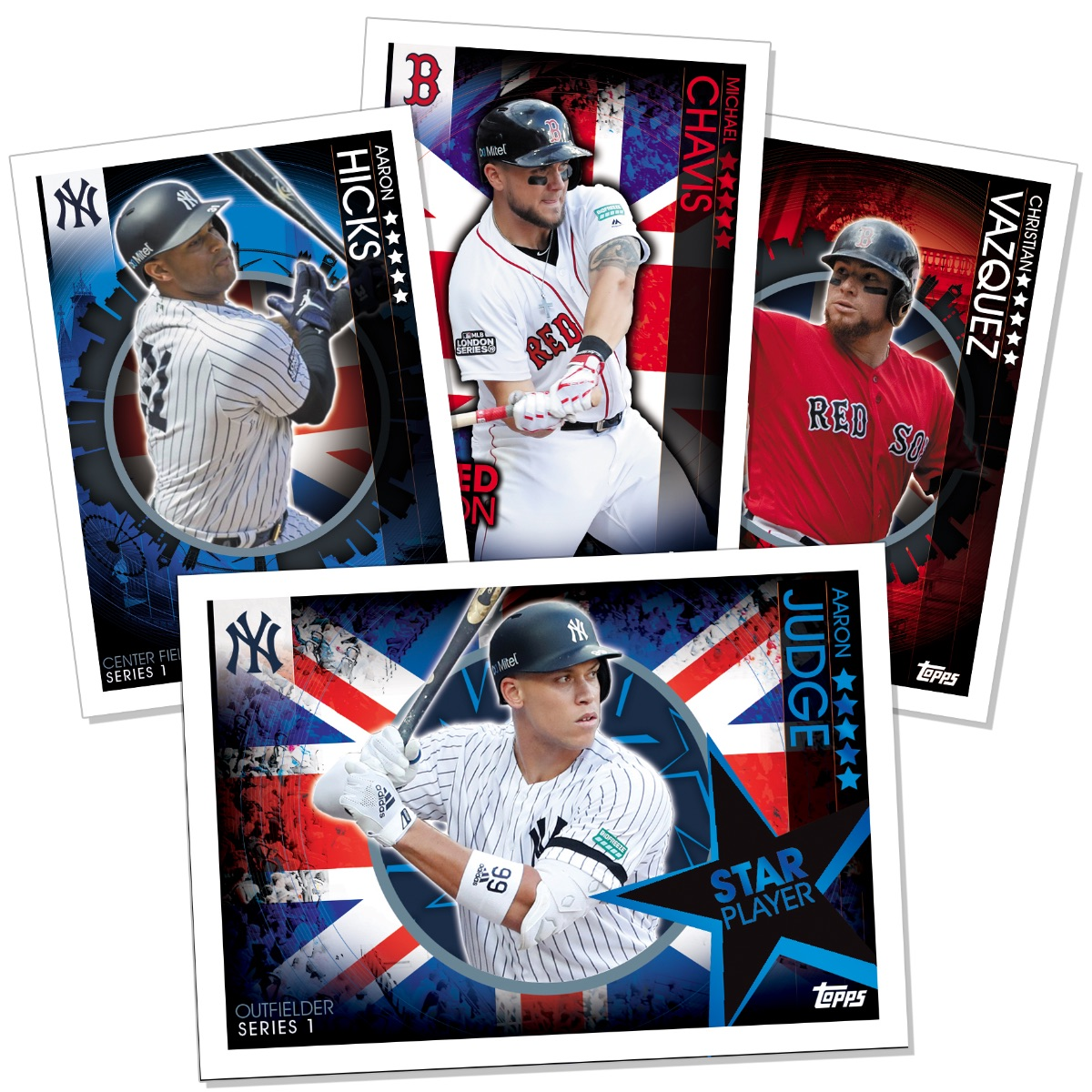 2019 Topps Uk On Demand London Series Checklist Details Print Runs