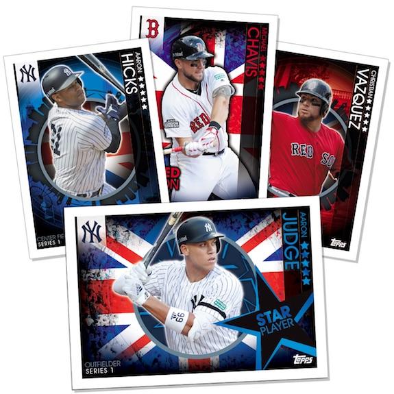 2019 Topps UK On Demand London Series Baseball Cards 1