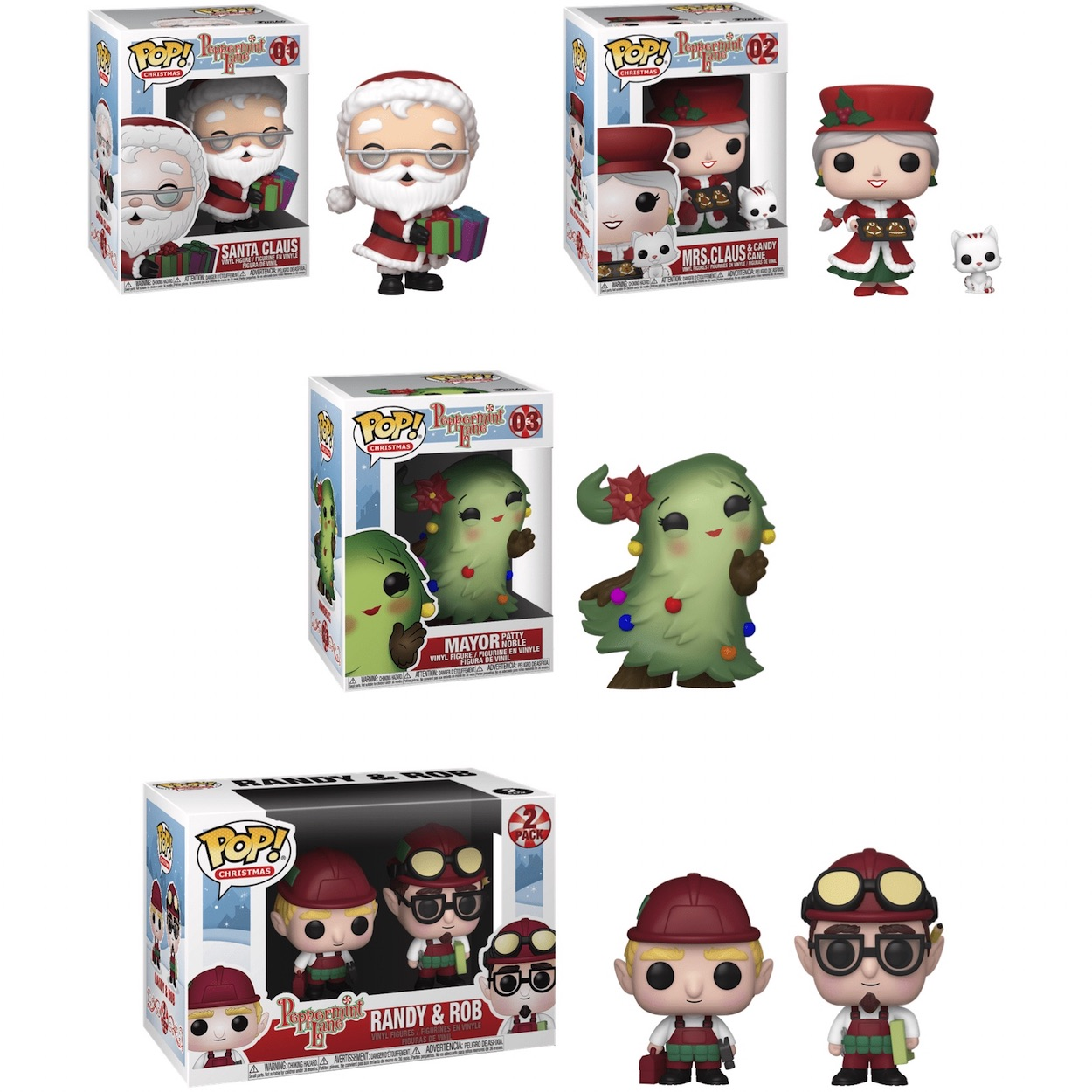 Christmas Funko Pop 2020 Funko Pop Christmas Peppermint Lane Checklist, Exclusives List