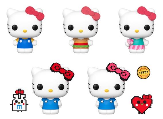 Funko Pop Hello Kitty Vinyl Figures 3