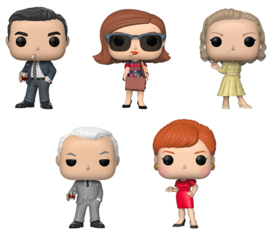 Funko Pop Mad Men Vinyl Figures 1