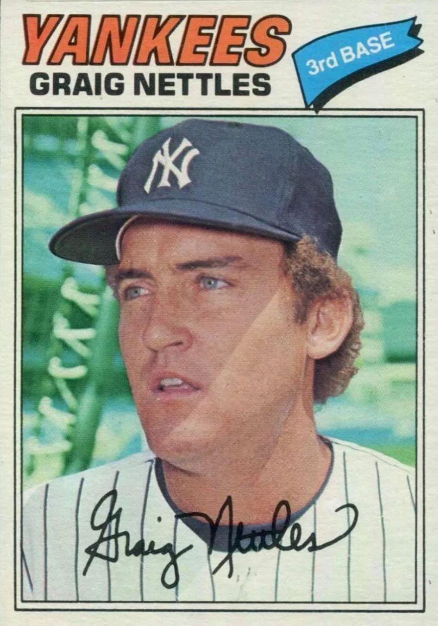 Top 10 Graig Nettles Baseball Cards 3
