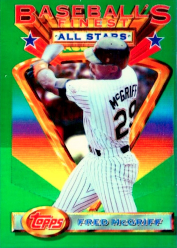 Top 10 Fred McGriff Baseball Cards 8