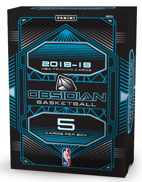 2018-19 Panini Obsidian Basketball Cards 5
