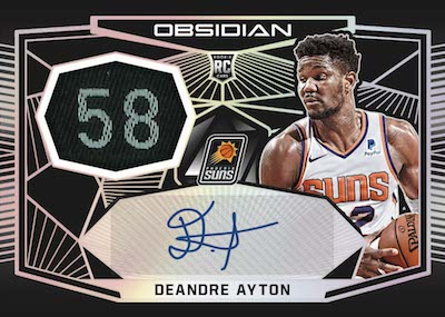 2018-19 Panini Obsidian Basketball Cards - Checklist Added 5