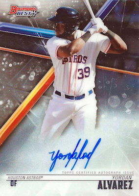 Top Options Before the Yordan Alvarez Rookie Cards 3