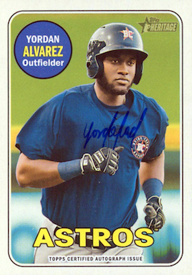 Top Options Before the Yordan Alvarez Rookie Cards 7