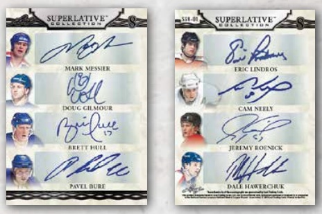 2019-20 Leaf Superlative Collection Hockey Cards 3