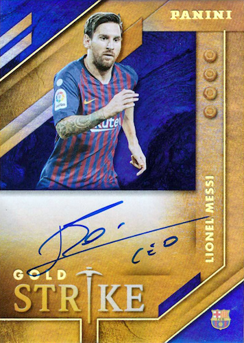 2019-20 Panini Gold Standard Soccer Cards 6