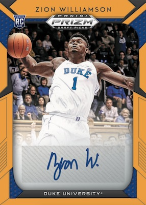 2019-20 Panini Prizm Draft Picks Basketball Cards 7