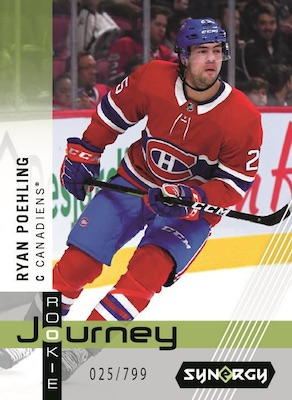 2019-20 Upper Deck Synergy Hockey Cards 5