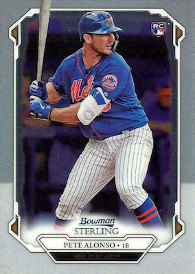 2019 Bowman Sterling Baseball Cards 29