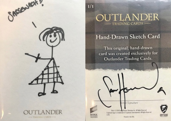 2019 Cryptozoic CZX Outlander Trading Cards 33