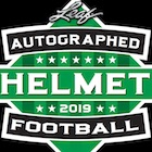 2019 Leaf Autographed Football Helmet Edition