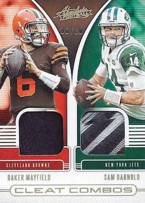 2019 Panini Absolute Football Cards 35