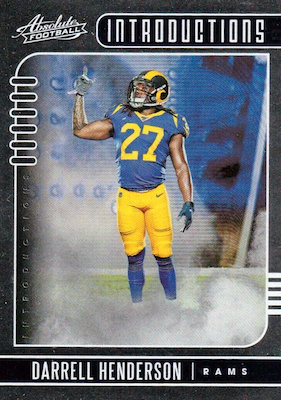 2019 Panini Absolute Football Cards 43