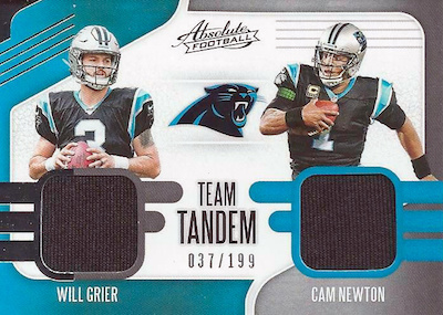 2019 Panini Absolute Football Cards 39