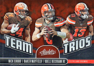 2019 Panini Absolute Football Cards 47