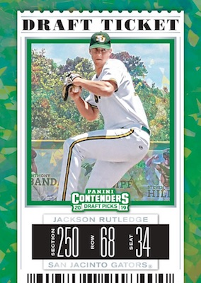 2019 Panini Contenders Draft Picks Baseball Cards 4