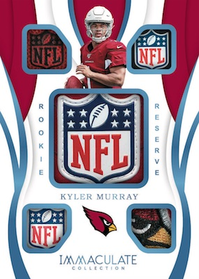 2019 Panini Immaculate Collection Football Cards 8