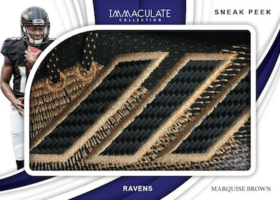 2019 Panini Immaculate Collection Football Cards 9