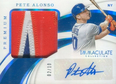 ROY! Pete Alonso Rookie Cards Guide and Top Prospects List 8