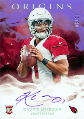2019 Panini Origins Football Cards 30