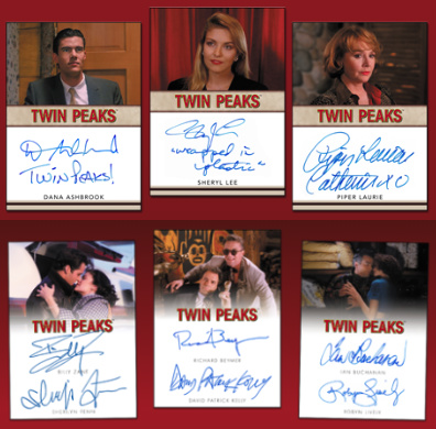 2019 Rittenhouse Twin Peaks Archives Trading Cards 4