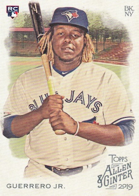 Top Vladimir Guerrero Jr. Rookie Cards and Prospects 11