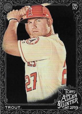 2019 Topps Allen & Ginter X Baseball Cards 3