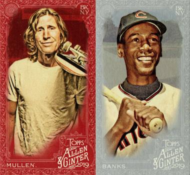 2019 Topps Allen & Ginter X Baseball Cards 4