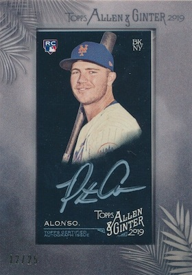 ROY! Pete Alonso Rookie Cards Guide and Top Prospects List 19