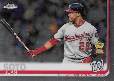 2019 Topps Chrome Baseball Variations Gallery 45