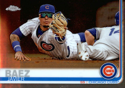 2019 Topps Chrome Baseball Variations Gallery 17