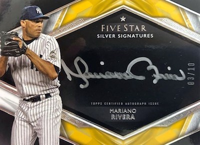 2019 Topps Five Star Baseball Cards 35