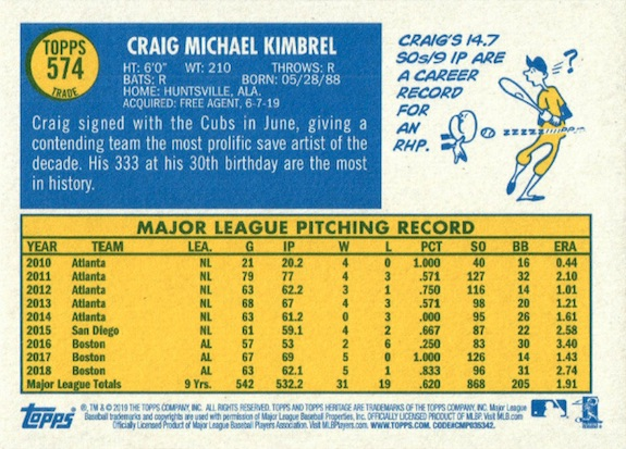 2019 Topps Heritage High Number Baseball Variations Guide 190