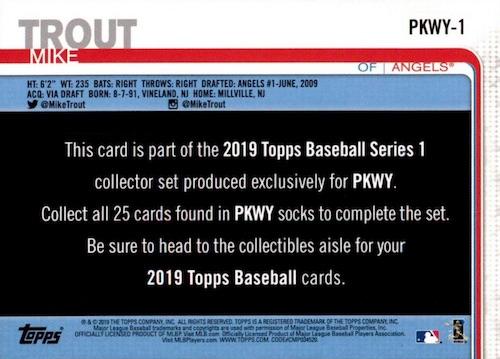 2019 Topps PKWY Baseball Cards 2