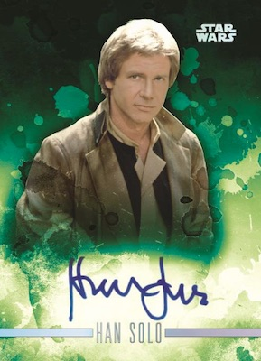 2019 Topps Star Wars Stellar Signatures Trading Cards 1