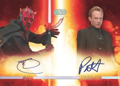 2019 Topps Star Wars Stellar Signatures Trading Cards 2