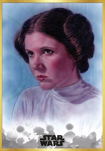 2019 Topps Star Wars Stellar Signatures Trading Cards 5