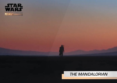 2019 Topps Star Wars The Mandalorian Trailer Trading Cards 3