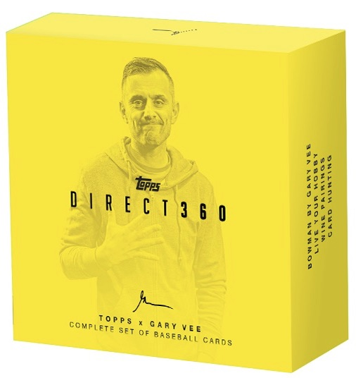 2019 Topps X Gary Vee Direct360 Baseball Cards 3
