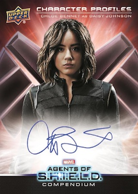 2019 Upper Deck Agents of SHIELD Compendium Trading Cards 6