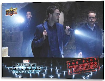 2019 Upper Deck Agents of SHIELD Compendium Trading Cards 4