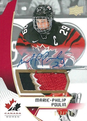 2019 Upper Deck Team Canada Juniors Hockey Cards 24