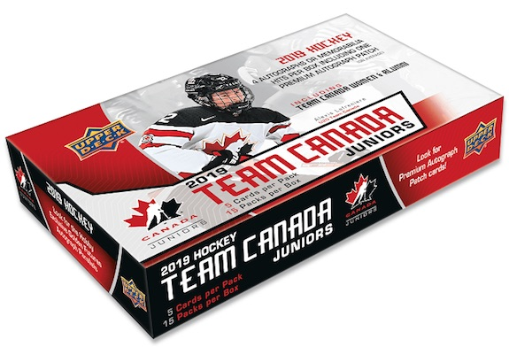 2019 Upper Deck Team Canada Juniors Hockey Cards 1