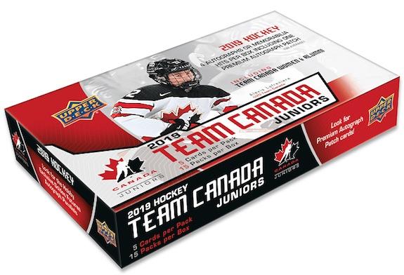 2019 Upper Deck Team Canada Juniors Hockey Cards 3