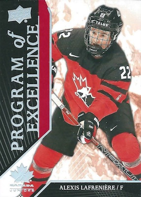 2019 Upper Deck Team Canada Juniors Hockey Cards 29