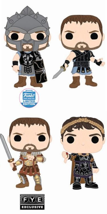 Funko Pop Gladiator Vinyl Figures 1